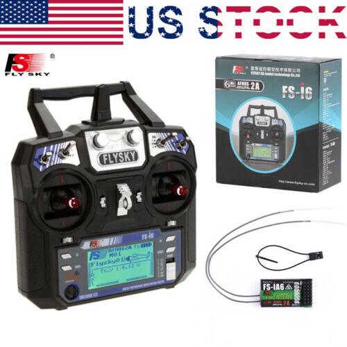 FlySky FS-i6 FS I6 2.4G 6ch RC Transmitter Remote Controller FS-iA6