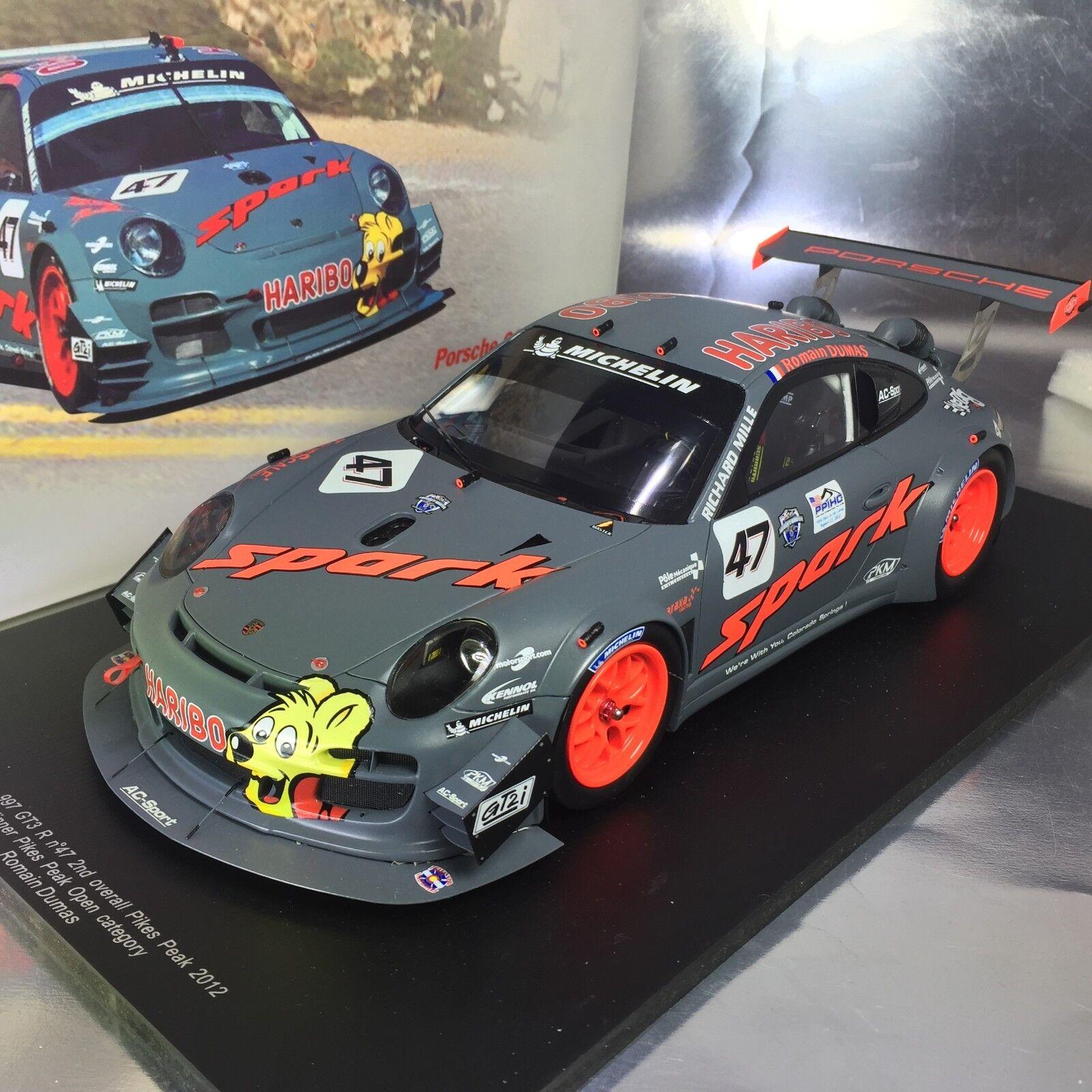 1 18 Spark  18S075 Porsche 997 RSR GT3 No.47 Spark