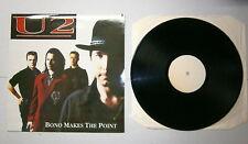 """U2 # 33 Giri # 12"""" - BONO MAKES THE POINT - LOVE COMES TO TOWN TOUR -Dublin 1989"""