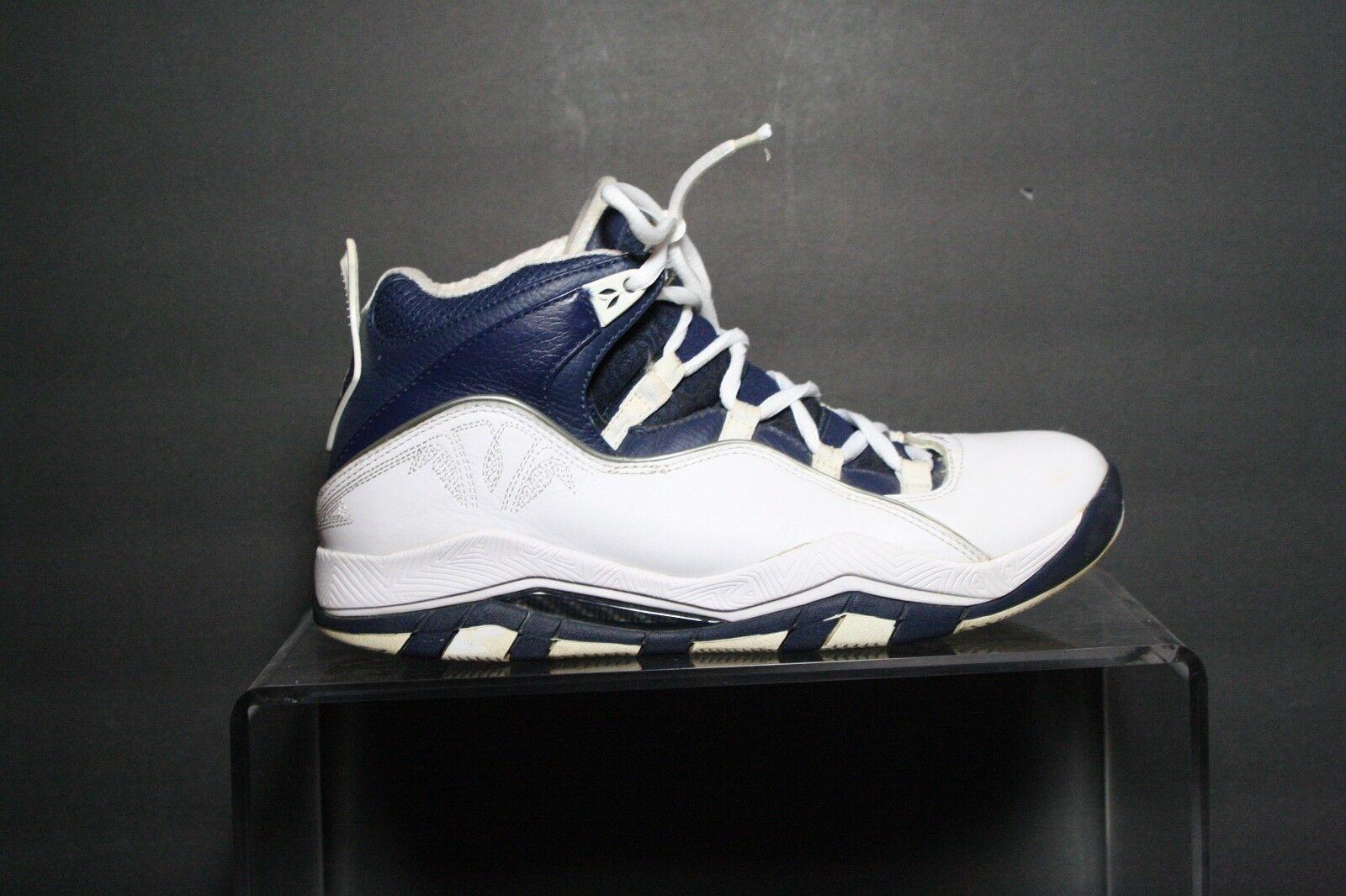 Nike Air Jordan Olympia Beijing 08' Sneakers Hipster Multi bluee Men's 7.5 B-ball