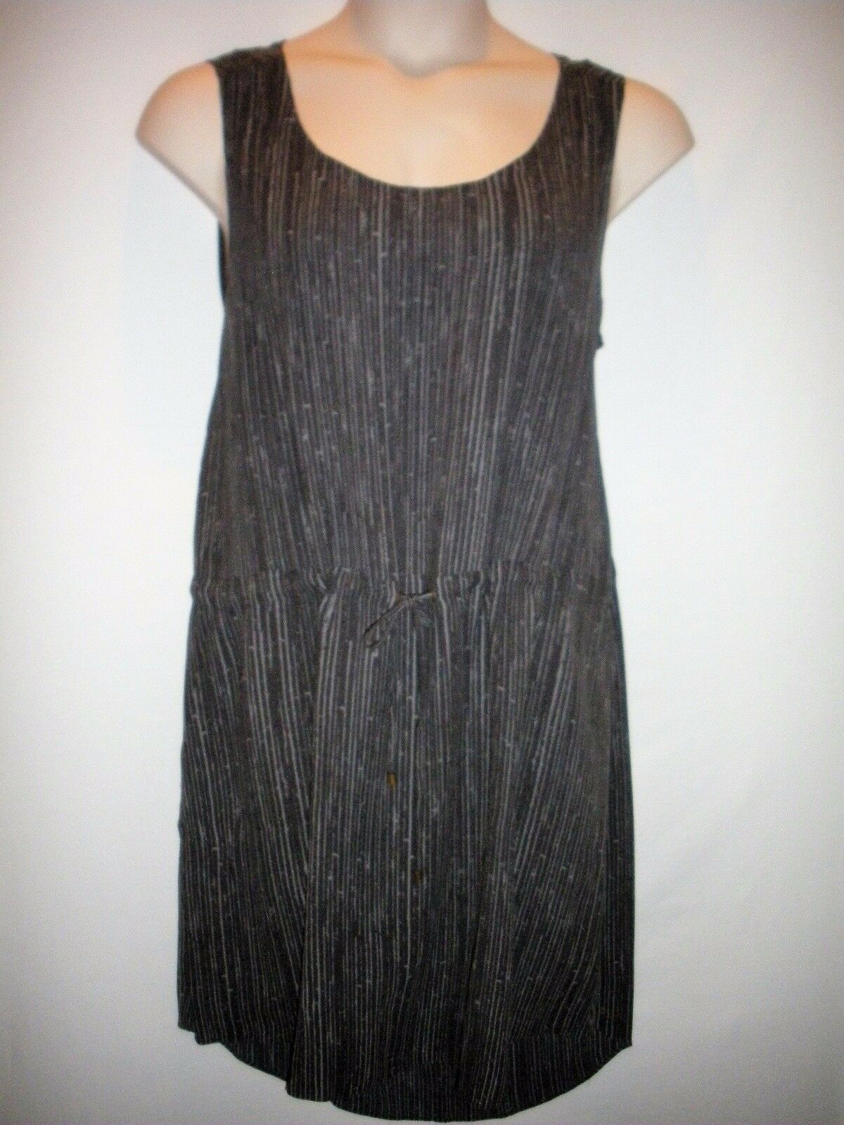 NEW with TAGS  EILEEN FISHER Sleeveless Drawstring Dress Größe Large - MSRP
