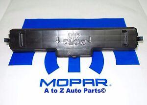 New Genuine Chrysler Door Filter Access 68079489AB 68079489-AB OEM