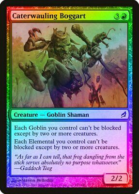 Caterwauling Boggart Foil Lorwyn Pld-sp Red Common Magic Gathering Card Abugames