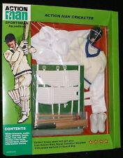 VINTAGE ACTION MAN 40th CARDED SPORTSMAN CRICKETER NEW