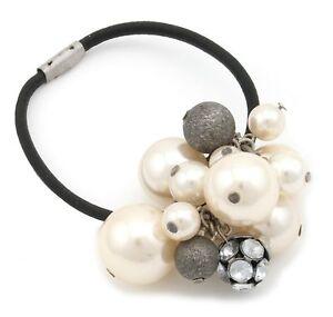 Style De Mode Zest Pearl Bead Cluster Hair Band Avec Strass Gems-afficher Le Titre D'origine Prix De Vente Directe D'Usine