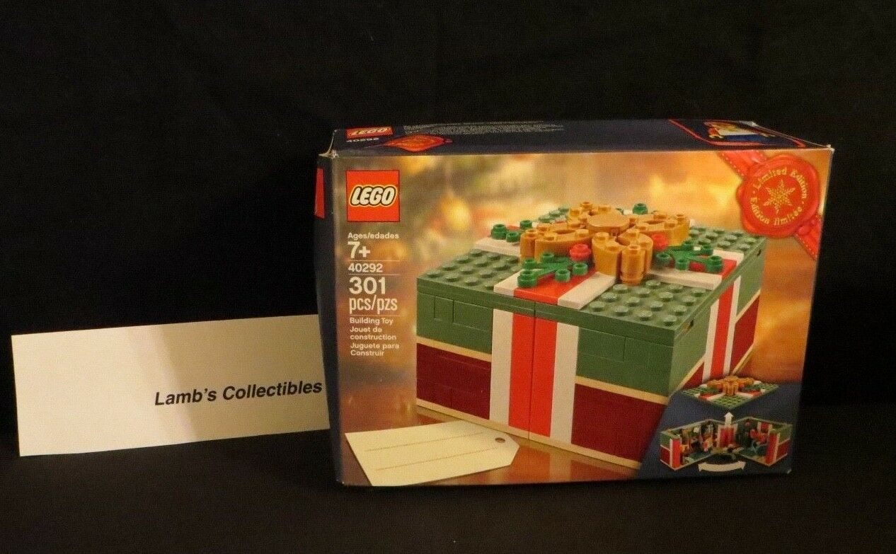 Lego Christmas present set 40292 Limited Edition 301 pieces