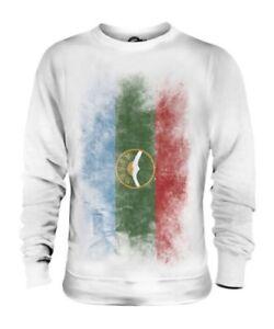 Bandiera Maglione Regalo Sbiadito Calcio Unisex Camicia cherkessia Di Karachay qZaw77