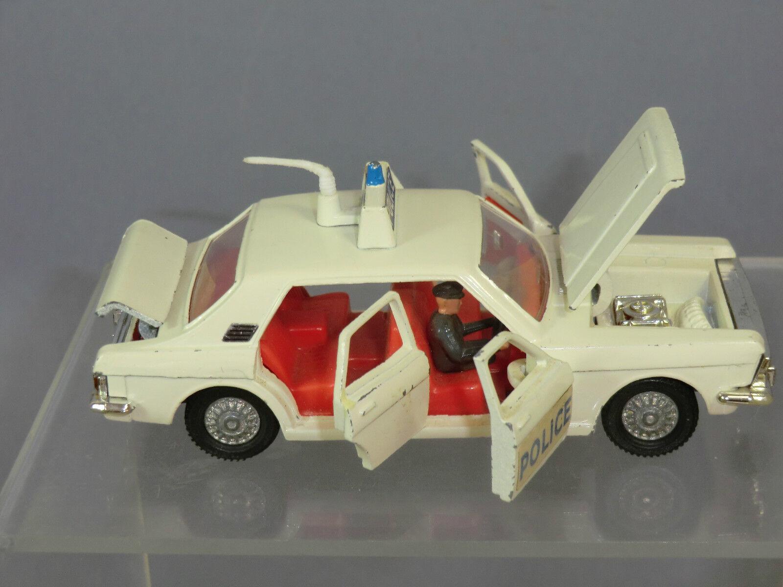 Vintage Dinky Toys Modelo No.255 Ford Zodiac coche de policía