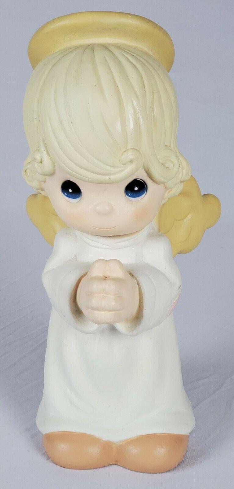 Precious moments angel fabric applique iron on boy girl 3.5 inch