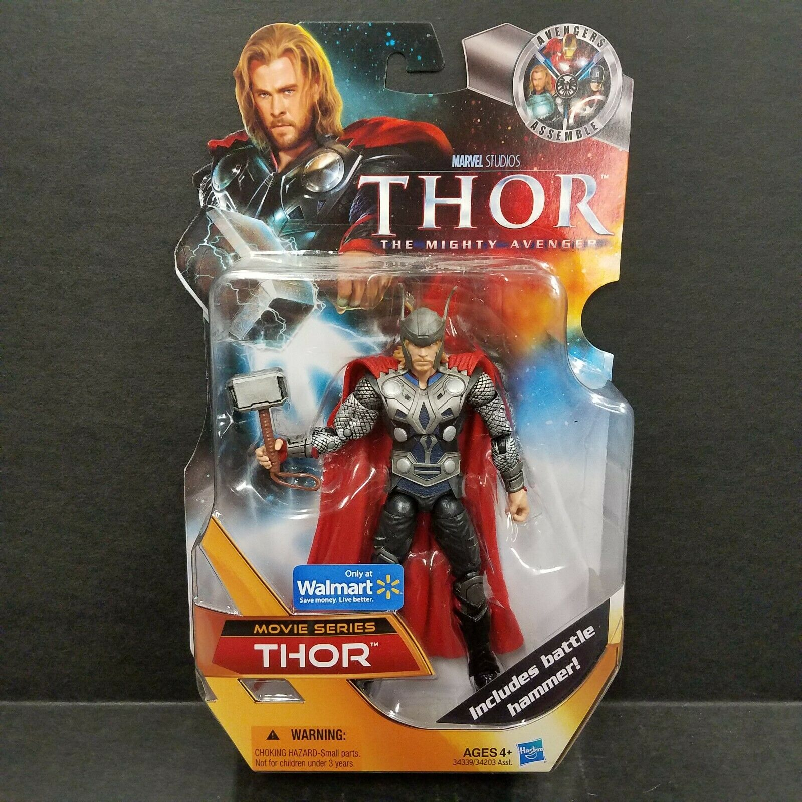 Thor The Mighty Avenger Movie Series Thor azione cifra Walmart Exclusive
