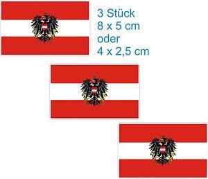 Oesterreich mit Wappen Auto-Fahne