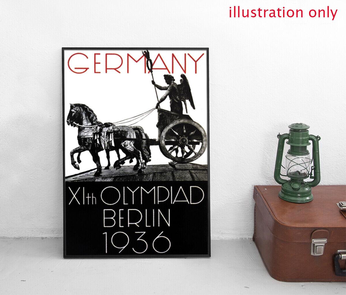 Kupit Din A2 Plakat Olympische Spiele 1936 Deutschland Poster Na Aukcion De Iz Germanii S Dostavkoj V Rossiyu Ukrainu Kazahstan