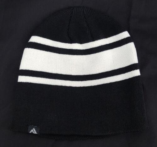 Black // White Beanie Virginia International Raceway knitted cap VIR