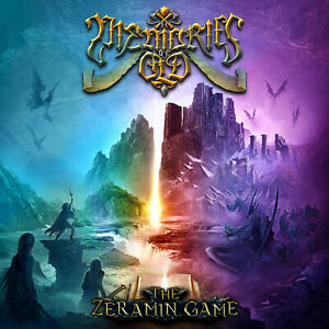 MEMORIES-OF-OLD-The-Zeramin-Game-CD-2020-Epic-Power-Metal-Tommy-Johansson