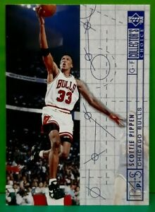 Scottie Pippen subset card 1994-95 Upper Deck Collector's Choice #375