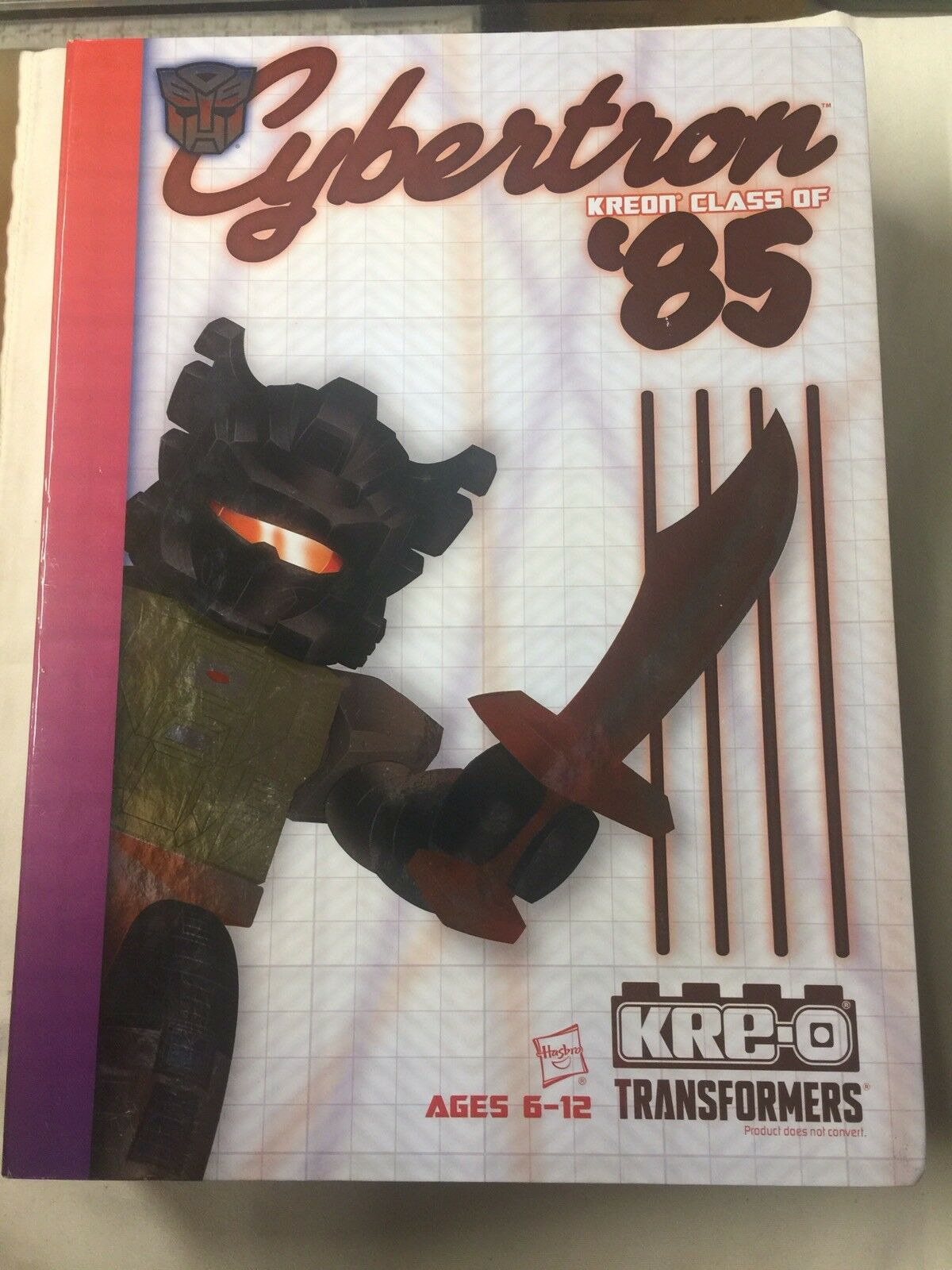 Hasbro sdcc exklusive kreo-o transformatoren cybertron klasse von 1985 neue kreo