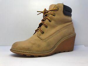 Up 3 5 Womens Keilabsatz Timberland Größe Uk Schuhe Wheat Lace TK3lcF1J