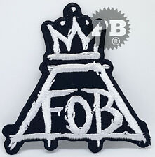 #2164 FALL OUT BOY Iron/sew on Embroidered Patch UK Seller