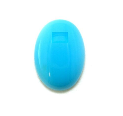 3mm x 2mm Oval Cabochon Natural Turquoise Gem Gemstone