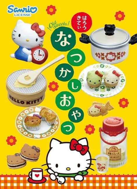 Re-Hommest Miniature Sanrio  Hello Kitty Old Sweets Full set of 8 pieces  le moins cher
