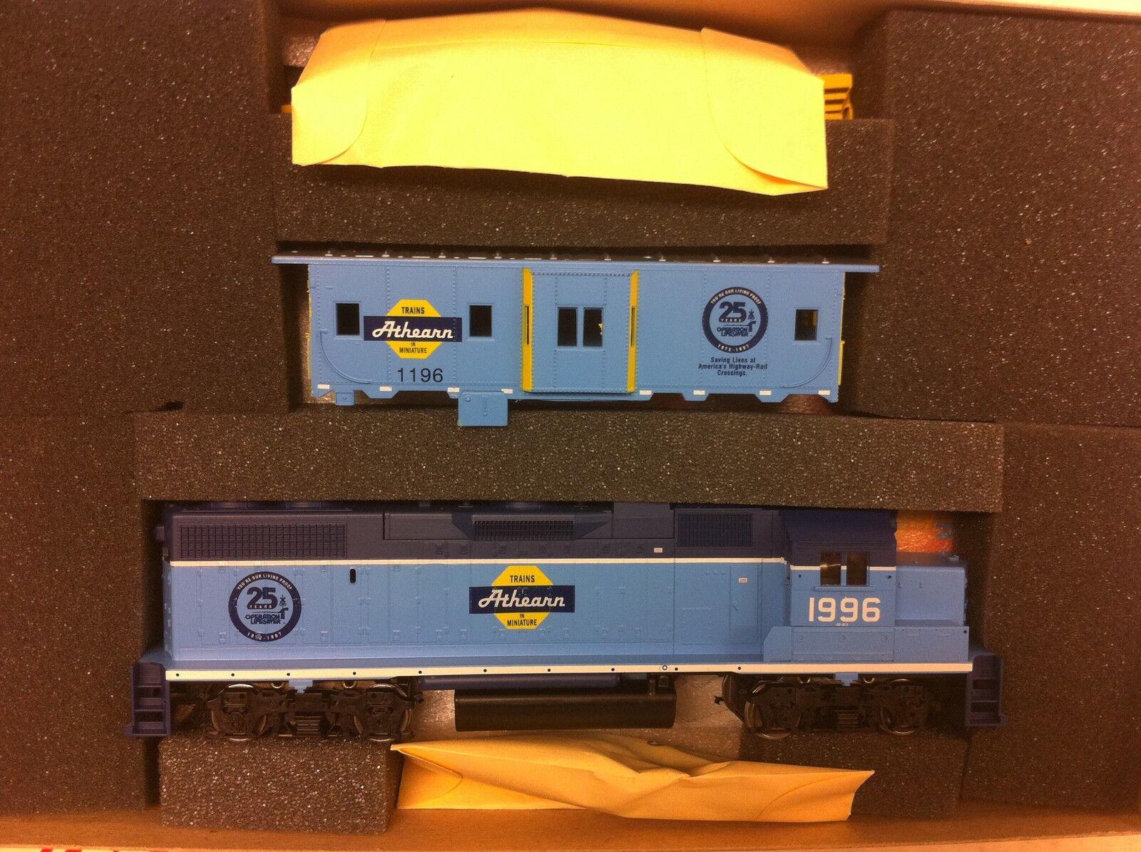 Athearn specialee edizione 2212 GP382 energiaosso Caboose HO Train auto NIB 1996 RARE