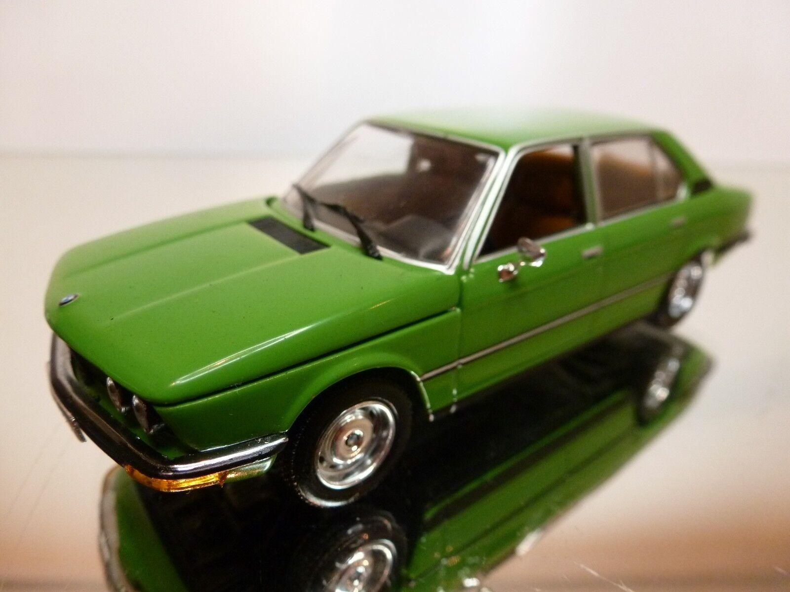 MINICHAMPS BMW 5 SERIES 520 (1927-1976) - verde 1 43 - EXCELLENT CONDITION - 17