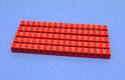 Lego Technik Technic Lochbalken 1x16 schwarz #3703 NEUWARE