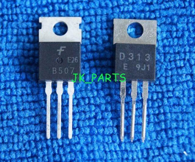 2sb507+2sd313 Transistore To-220 Paio