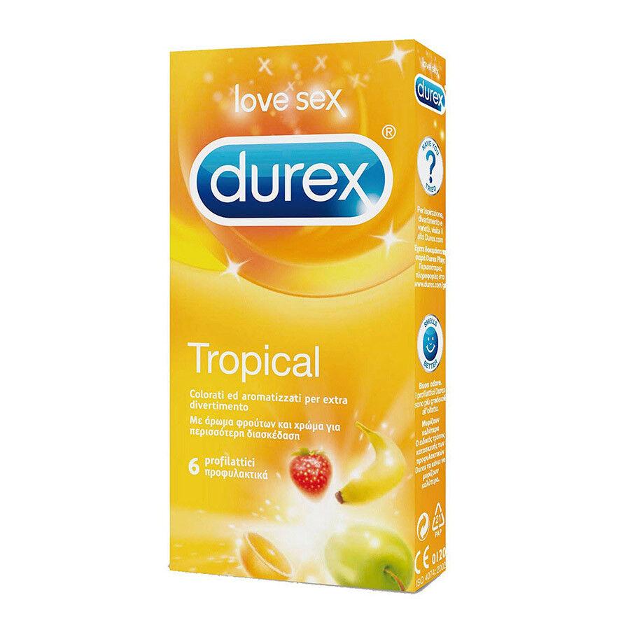 DUREX TROPICAL - - - Preservativi profumati - confezione da 6 profilattici 46dd9a