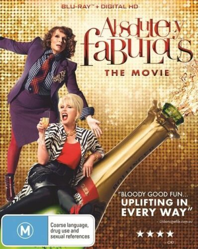 1 of 1 - The Absolutely Fabulous - Movie (Blu-ray, 2016)