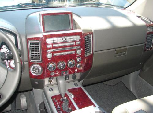 Fits Honda Ridgeline 06-08 WOOD CHROME OR CARBON FIBER DASH KIT TRIM PANEL PARTS