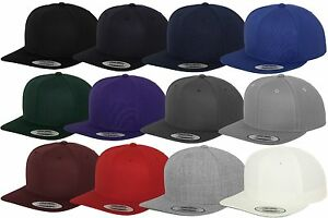 FLEXFIT-ORIGINAL-BASEBALL-CAP-SNAPBACK-New-Full-Kappe-2-Tone-Era-Blank-Muetze