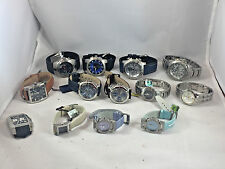 Wholesale Lot Men's/Ladies Festina Leather/Stainless Chronograph (13 watches)