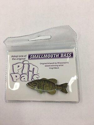 Pin Pals Smallmouth Bass Pin