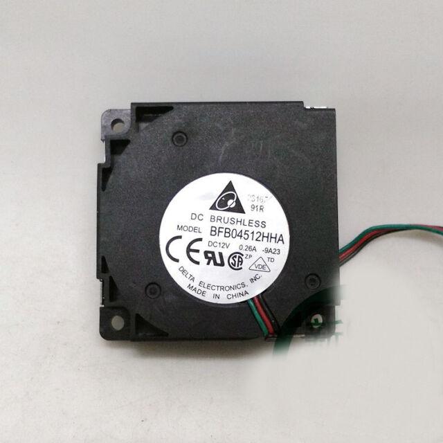 Para Delta BFB04512HHA 45*45*10mm 12V 0.26A 3pin Ventilador Ventilador de refrigeración