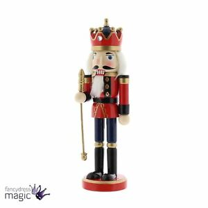Image Is Loading Festive Vintage Traditional Christmas Wooden Nutcracker Knight Home