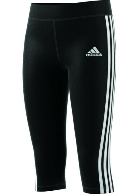 adidas YG GU 3/4 TIGHT black/white