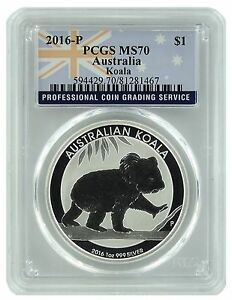 2016-P-Australia-1oz-Silver-Koala-PCGS-MS70-Flag-Label