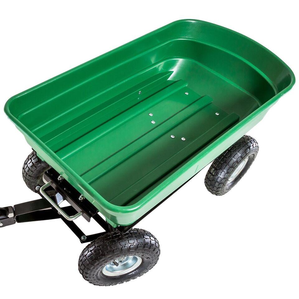 Trækvogn med vippefunktion