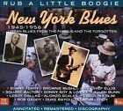 New York Blues 1945-1956: Rub a Little Boogie [Box] by Various Artists (CD, Aug-2010, 4 Discs, JSP (UK))