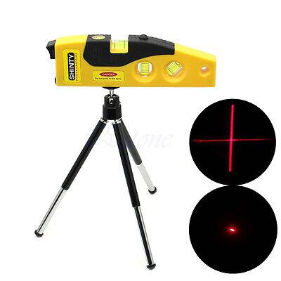HOT Mini Line Laser Level Marker TD9B 160° Laser Range with Adjustable Tripod