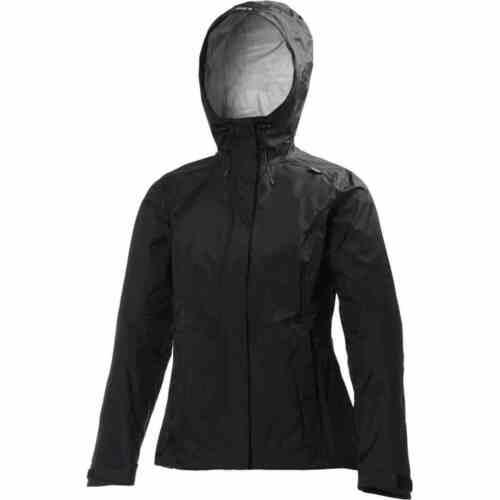 Helly Hansen Black Waterproof Jacket Size Meduim M Black RRP £100 Bargain £39.99