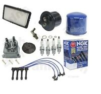 Ignition Tune Up Kit Filter Cap Rotor Spark Plugs Wire Honda Accord Se 90-91 2.2 on sale