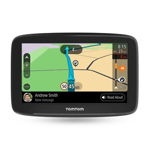 TomTom Coche SAT NAV ir básico 5 pulgadas con las actualizaciones a través de WiFi tráfico de por vida y