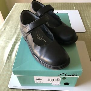 Clarks Infinity Girls Black Shoes