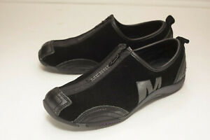 Us Flat Woman's Slip Black Merrell 7 Zip On 5 sCtrxhQd