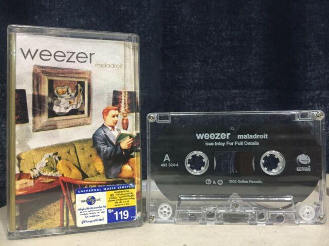 Weezer Maladroit Cassette Tape (Geffen 2002)