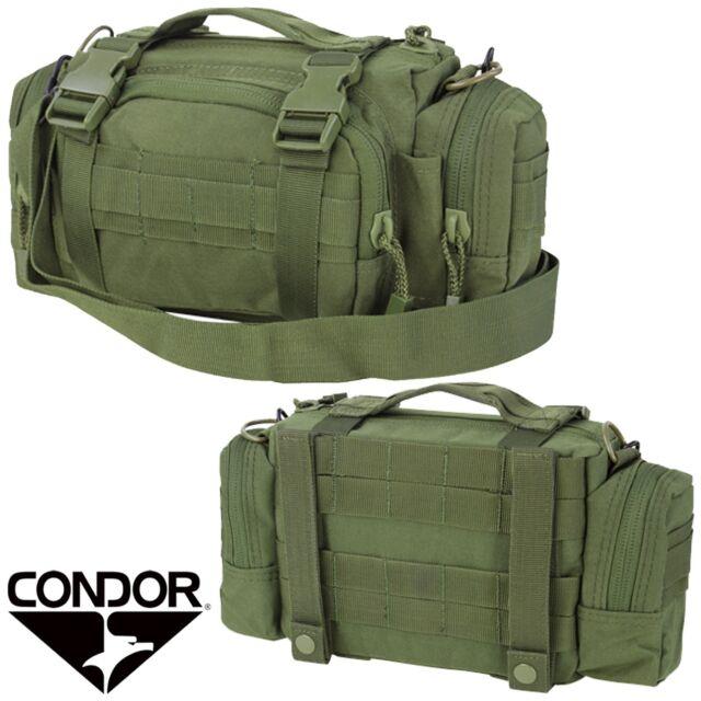 Condor #127 Tactical Deployment MOLLE Hunting Shoulder Go Bag Butt Pack OD Green