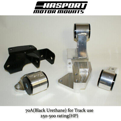 Hasport 88-91 Civic// CRX B-Series Rear Engine Bracket No drill for Hydro Trans