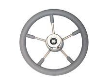 Ultraflex V57 Grey Soft Grip 350mm Boat Steering Wheel